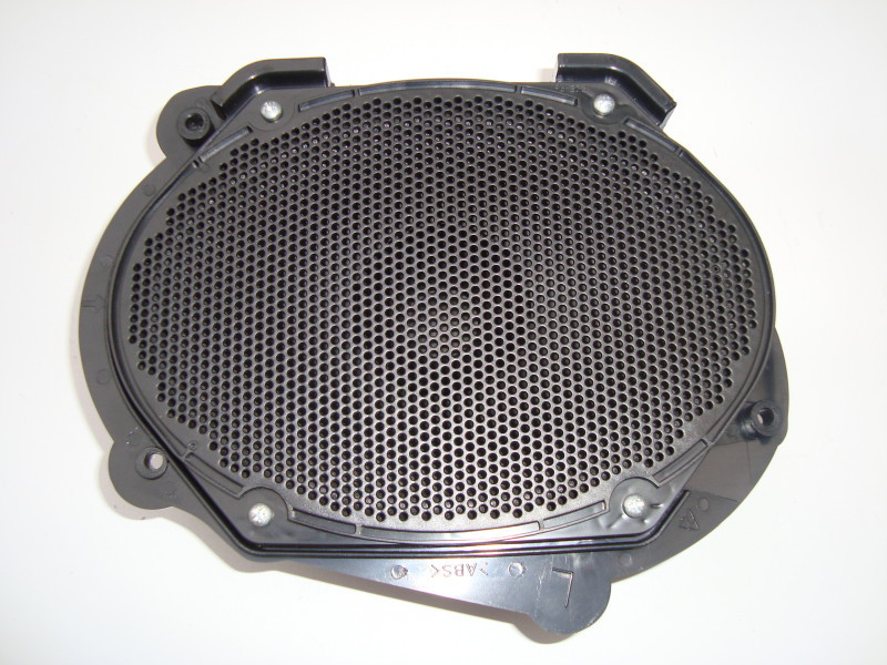 Nearside passenger door speaker