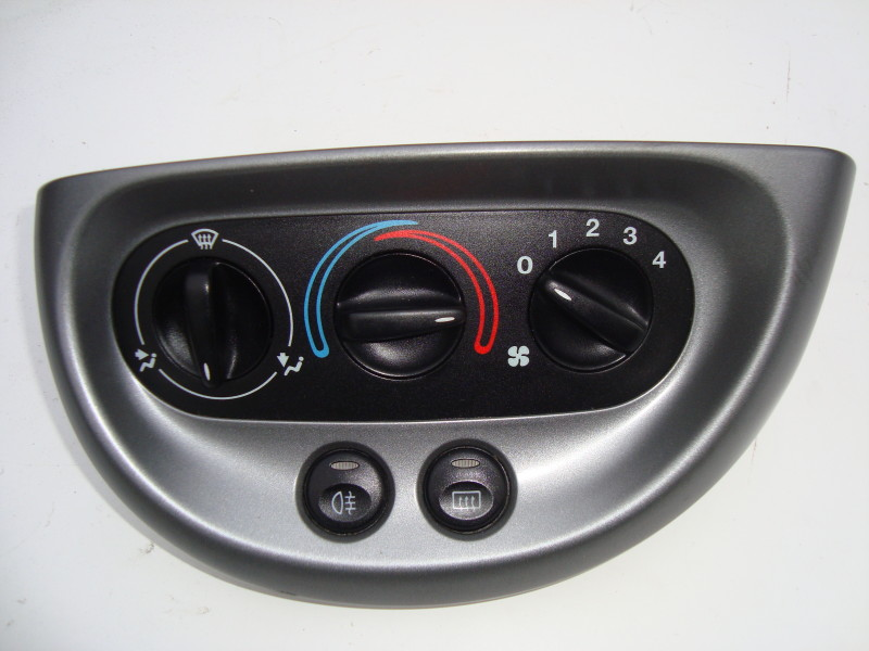 grey heater control panel three position