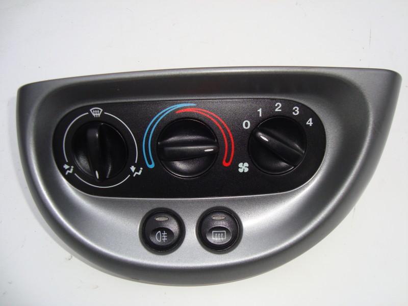 grey heater control panel three position