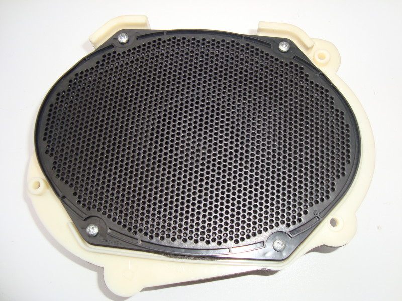driver side door speaker with oval two pin socket