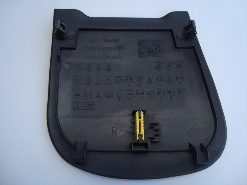 fuse box on a 1989 ford f 150 ford ka black plastic fuse box cover with fuse removal tool fuse box on a ford ka #8