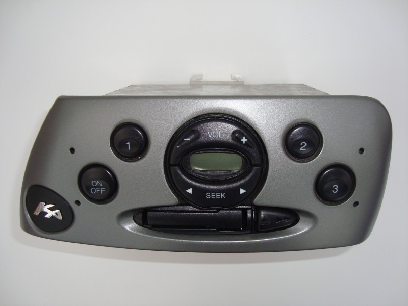 radio cassette with original fitment grey