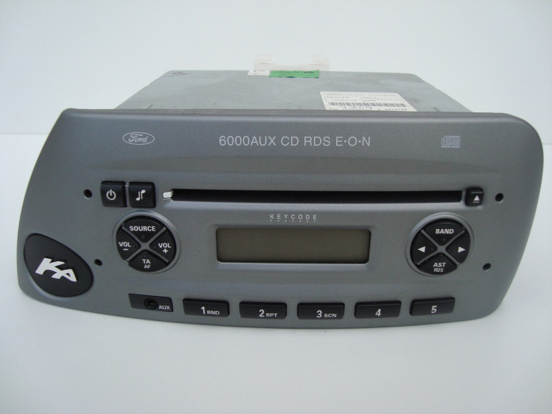 radio cd player 6000 aux cd, rds, EON, grey