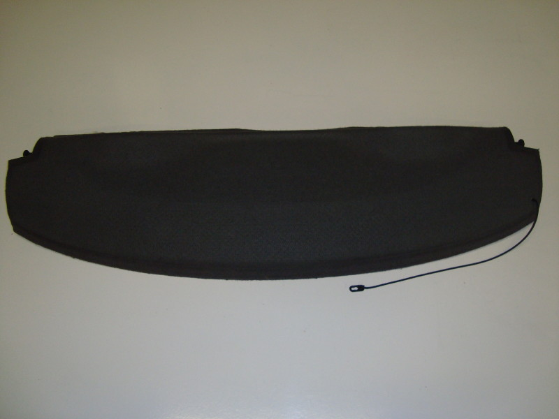 Rear parcel shelf black