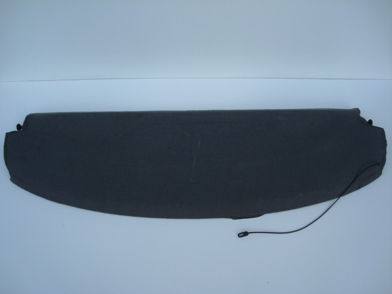 Rear parcel shelf grey